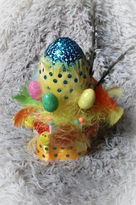 jajka wielkanocne - stroik