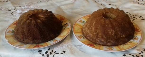 babka cytrynowa / babka orzechowa